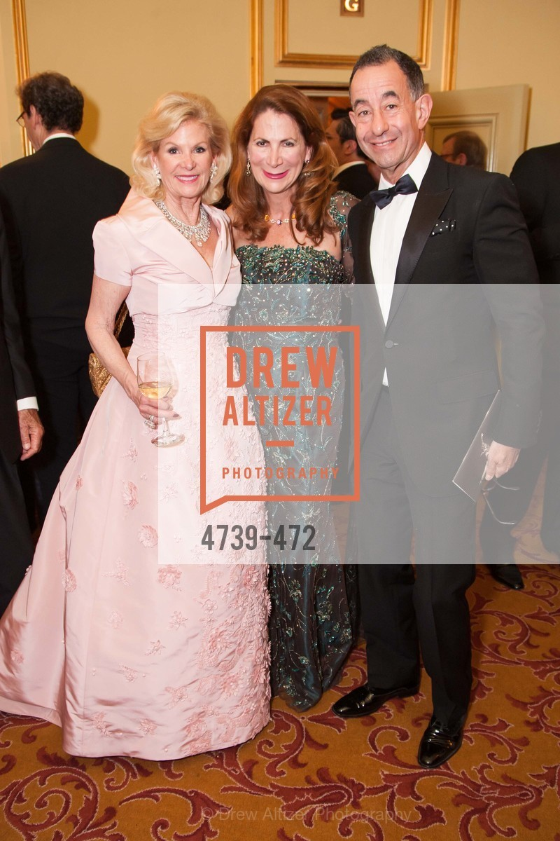 Dede Wilsey, Patricia Ferrin Loucks, Colin Bailey, SAN FRANCISCO BALLET Opening Night Gala: PHENOMENAL - Intermission & Dinner, US. SF City Hall, January 22nd, 2014,Drew Altizer, Drew Altizer Photography, full-service agency, private events, San Francisco photographer, photographer california