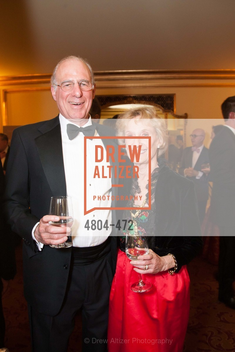 John Osterwiess, Nancy Bechtle, SAN FRANCISCO BALLET Opening Night Gala: PHENOMENAL - Intermission & Dinner, US. SF City Hall, January 22nd, 2014,Drew Altizer, Drew Altizer Photography, full-service agency, private events, San Francisco photographer, photographer california