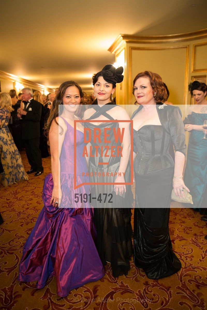 Elizabeth Fullerton, Autumn Adamme, Jennifer Raiser, SAN FRANCISCO BALLET Opening Night Gala: PHENOMENAL - Intermission & Dinner, US. SF City Hall, January 22nd, 2014,Drew Altizer, Drew Altizer Photography, full-service agency, private events, San Francisco photographer, photographer california