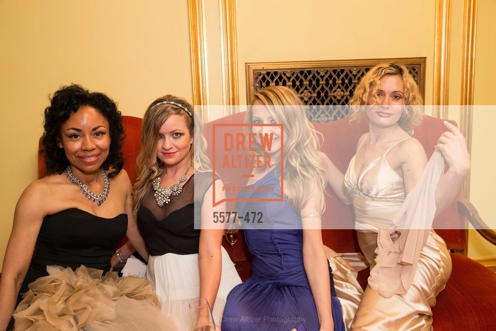 Tanya Powell, Julie Hall, Lana Ricketts, Larissa Wilms, SAN FRANCISCO BALLET Opening Night Gala: PHENOMENAL - Intermission & Dinner, US. SF City Hall, January 22nd, 2014,Drew Altizer, Drew Altizer Photography, full-service agency, private events, San Francisco photographer, photographer california