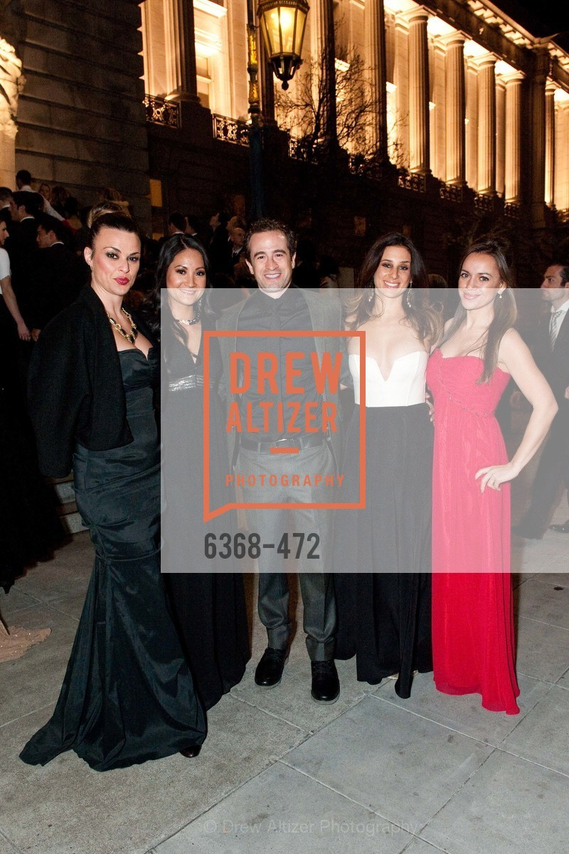 Christina Resasco, Jared Heyman, Carla Brenner, Kristen Eckert, SAN FRANCISCO BALLET Opening Night Gala: PHENOMENAL - Intermission & Dinner, US. SF City Hall, January 22nd, 2014,Drew Altizer, Drew Altizer Photography, full-service agency, private events, San Francisco photographer, photographer california