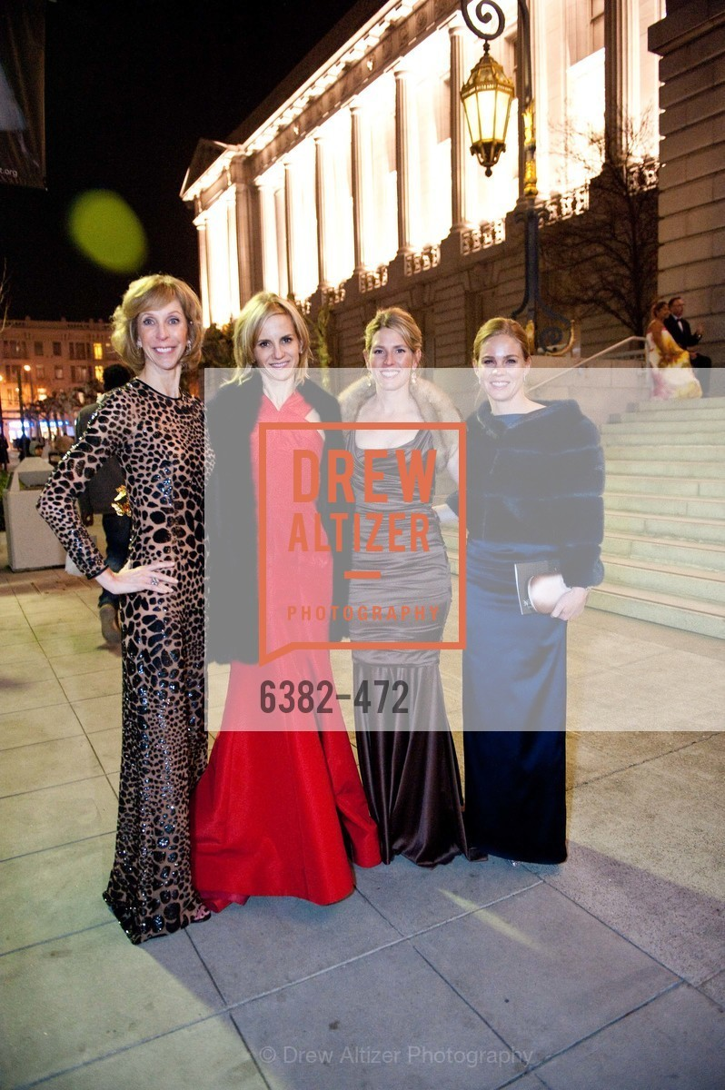 Nancy Kukacka, Ann Marie Peterson, Erin O'Donovan, Alison Bhusri, SAN FRANCISCO BALLET Opening Night Gala: PHENOMENAL - Intermission & Dinner, US. SF City Hall, January 22nd, 2014,Drew Altizer, Drew Altizer Photography, full-service agency, private events, San Francisco photographer, photographer california