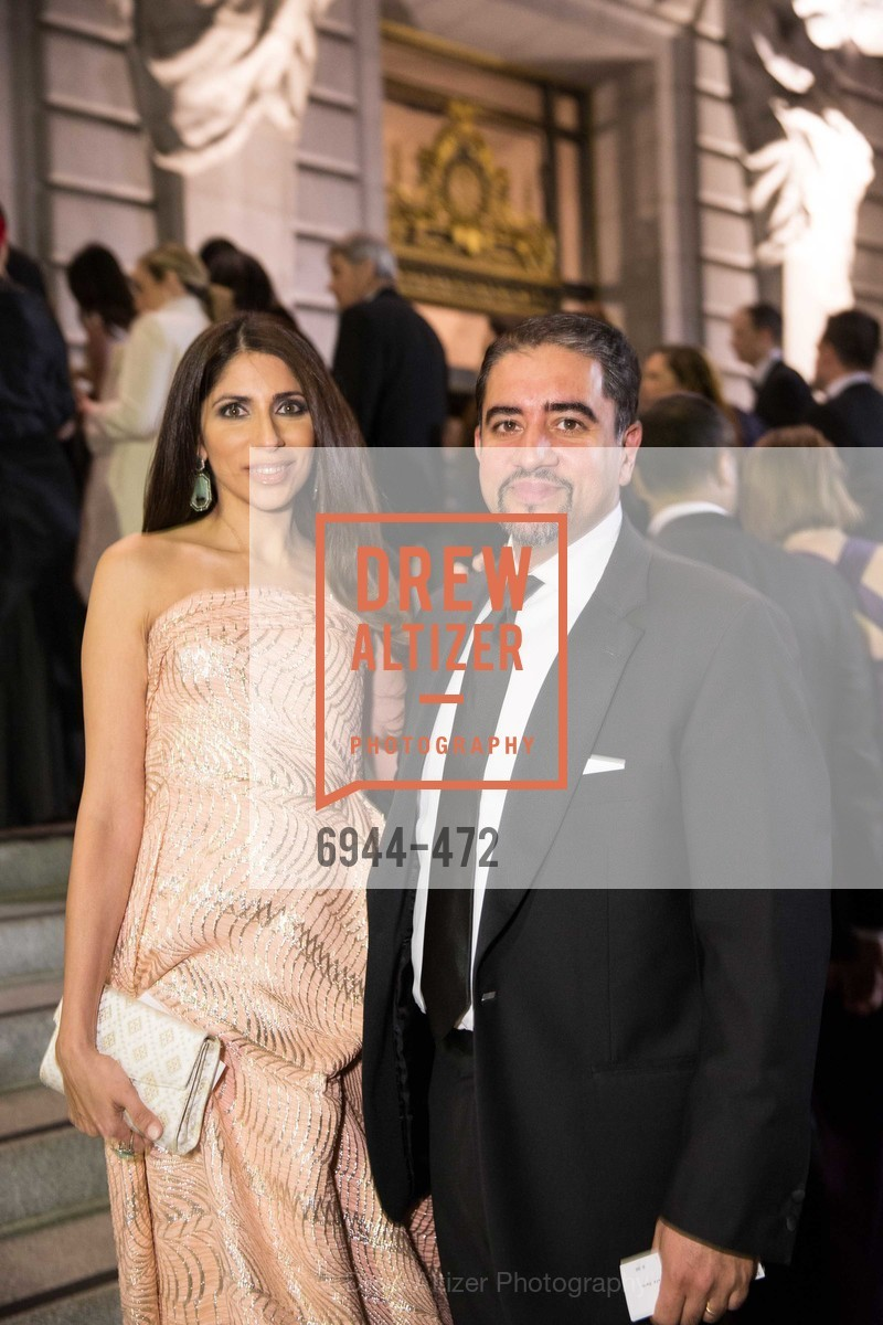Sobia Shaikh, Nadir Shaikh, SAN FRANCISCO BALLET Opening Night Gala: PHENOMENAL - Intermission & Dinner, US. SF City Hall, January 22nd, 2014,Drew Altizer, Drew Altizer Photography, full-service agency, private events, San Francisco photographer, photographer california