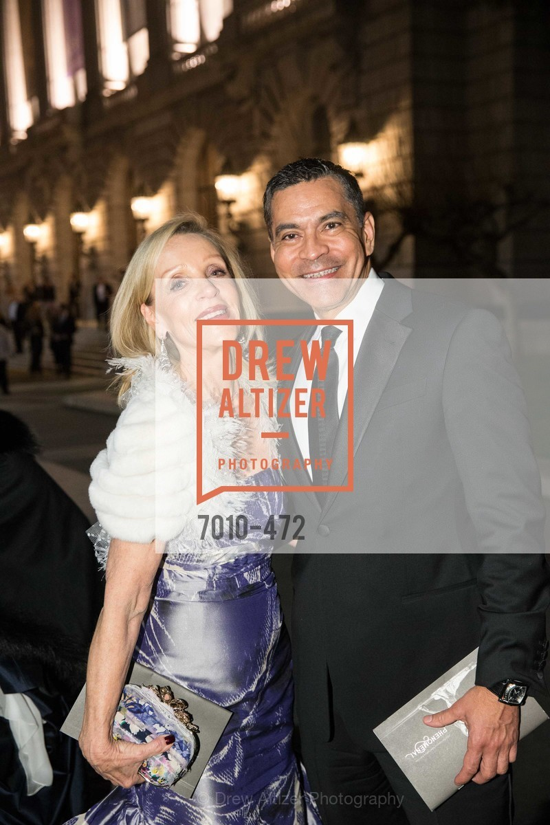 Barbara Brown, Daniel Diaz, SAN FRANCISCO BALLET Opening Night Gala: PHENOMENAL - Intermission & Dinner, US. SF City Hall, January 22nd, 2014,Drew Altizer, Drew Altizer Photography, full-service agency, private events, San Francisco photographer, photographer california