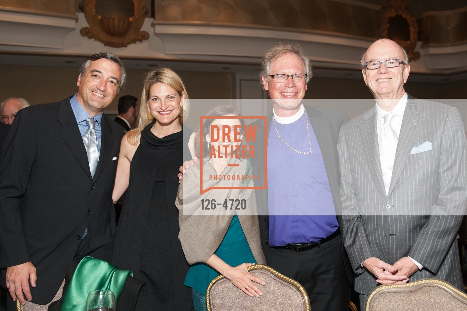 Davide Pacchini, Laura Pacchini, Sheila Andrus, Rt. Rev Marc Andrus, Tom Horn, Photo #126-4720