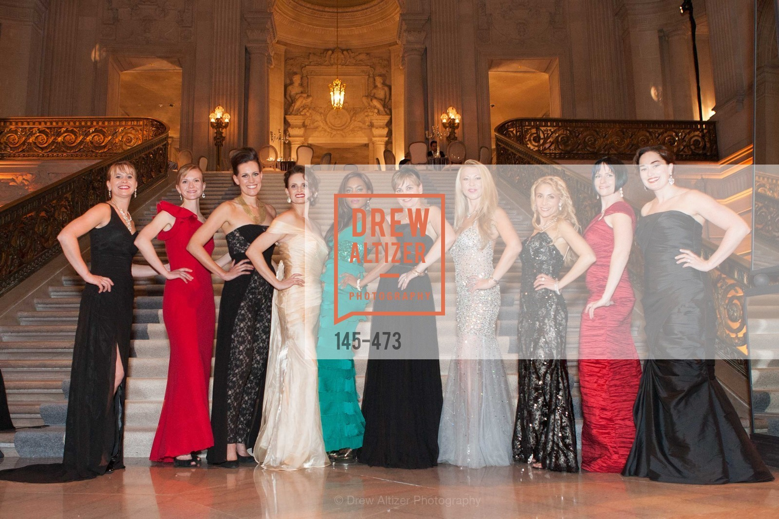 Kelly Cramer, Greer Goings, Ashley Tudor, Alyson Blume, Vanessa Jean Baptiste, Jane Burkhard, Lena Gikkas, Robin Farmanfarmaian, Joanna Winter, Bridget Dixon Nguyen, ENCORE! at San Francisco BALLET'S 2014 Season Opening Night Gala, US. US, January 22nd, 2014,Drew Altizer, Drew Altizer Photography, full-service agency, private events, San Francisco photographer, photographer california