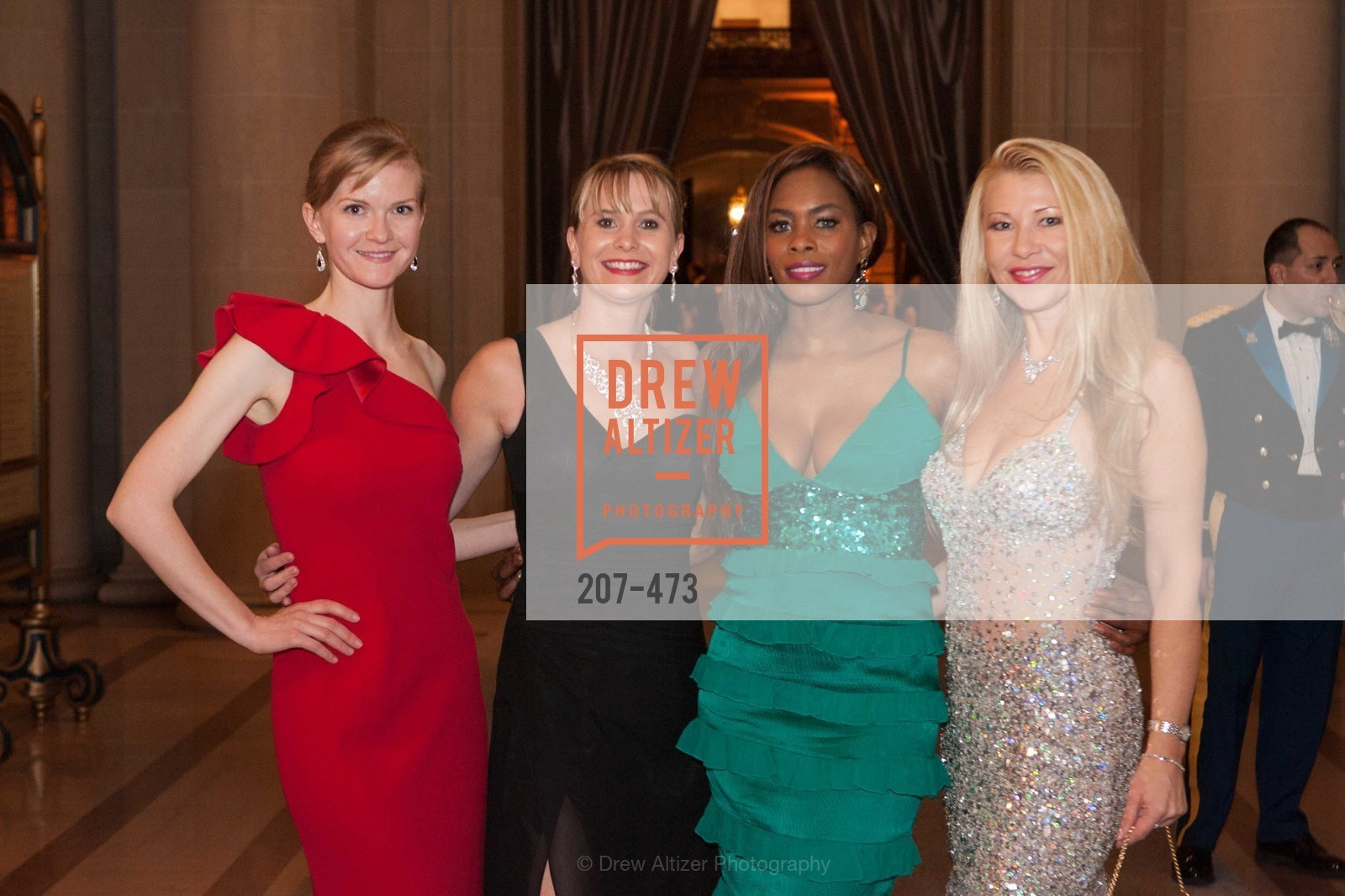 Greer Goings, Kelly Cramer, Vanessa Jean Baptiste, Lena Gikkas, ENCORE! at San Francisco BALLET'S 2014 Season Opening Night Gala, US. US, January 22nd, 2014,Drew Altizer, Drew Altizer Photography, full-service agency, private events, San Francisco photographer, photographer california