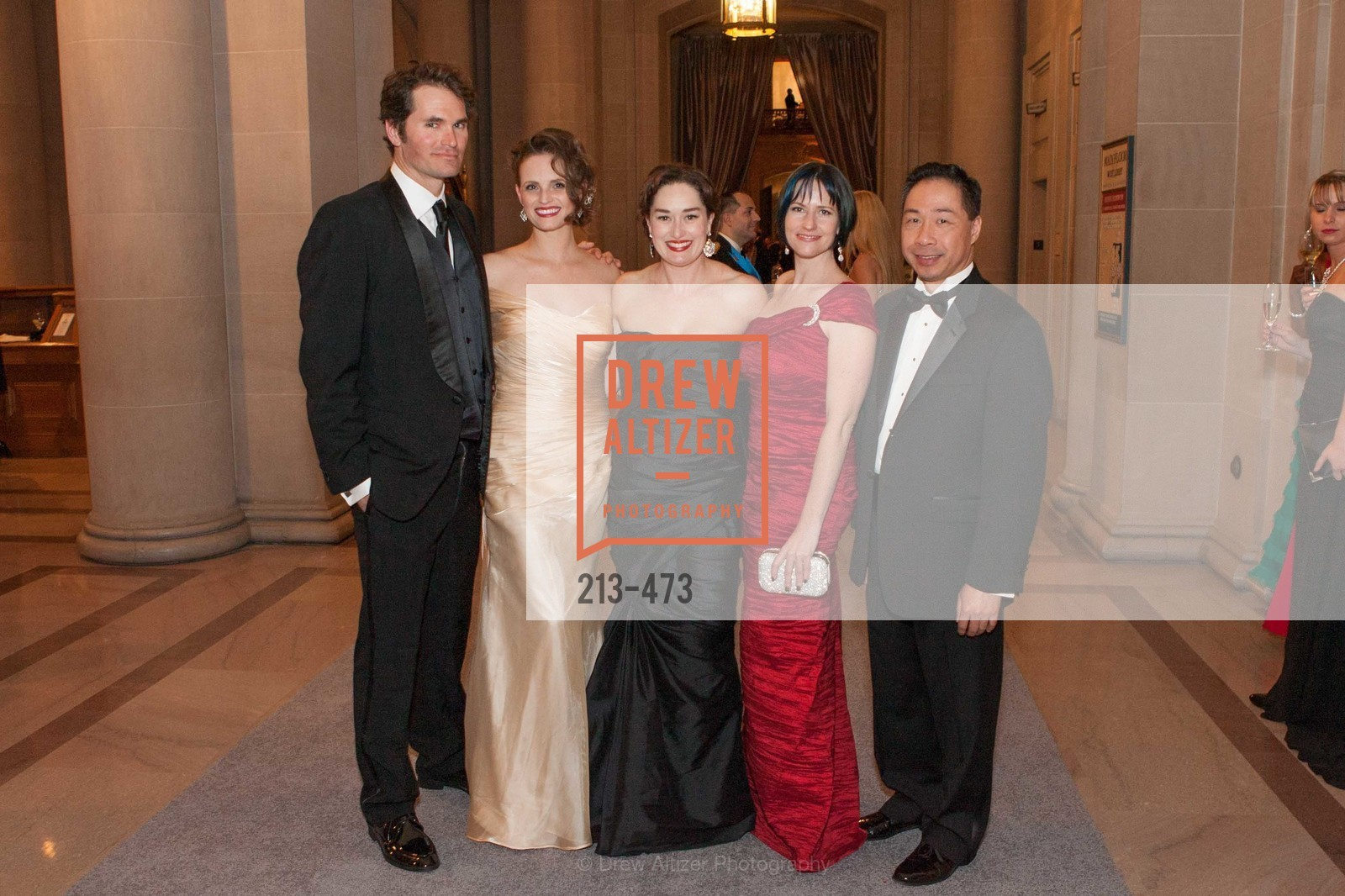 Rhett Butler, Alyson Blume, Bridget Dixon Nguyen, Joanna Winter, Wilson Yan, ENCORE! at San Francisco BALLET'S 2014 Season Opening Night Gala, US. US, January 22nd, 2014,Drew Altizer, Drew Altizer Photography, full-service agency, private events, San Francisco photographer, photographer california