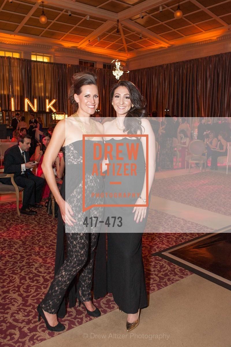 Ashley Tudor, Sarah Maloof, ENCORE! at San Francisco BALLET'S 2014 Season Opening Night Gala, US. US, January 22nd, 2014