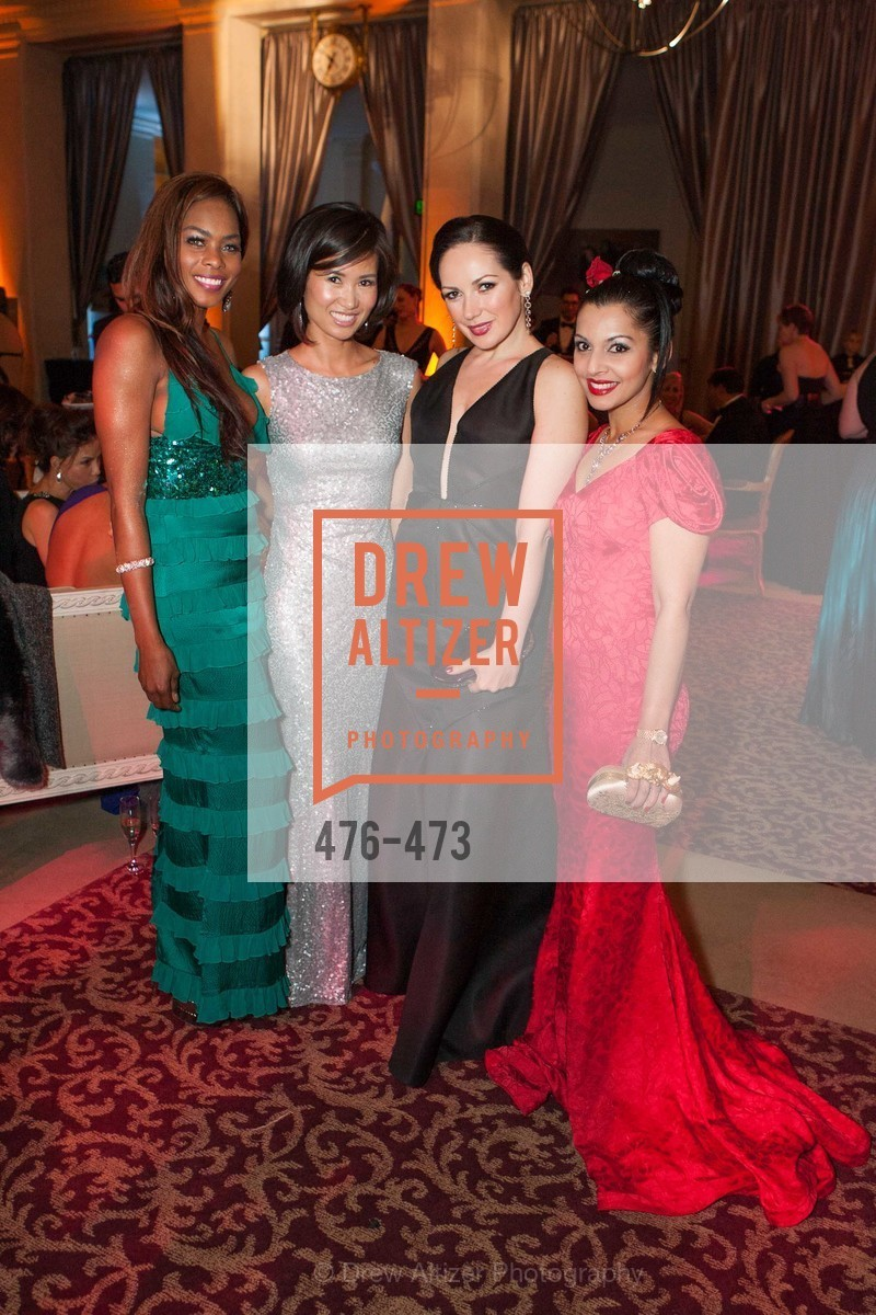 Vanessa Jean Baptiste, Bridget Dixon Nguyen, Ruwa Sumanasekera, ENCORE! at San Francisco BALLET'S 2014 Season Opening Night Gala, US. US, January 22nd, 2014,Drew Altizer, Drew Altizer Photography, full-service event agency, private events, San Francisco photographer, photographer California