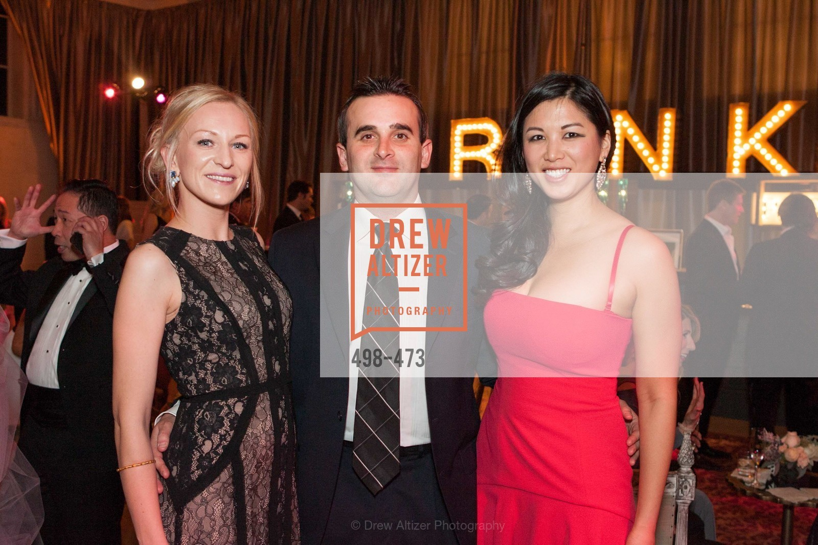 Natasha Yarushkina, Aaron Aiken, Emily Hu, ENCORE! at San Francisco BALLET'S 2014 Season Opening Night Gala, US. US, January 22nd, 2014,Drew Altizer, Drew Altizer Photography, full-service agency, private events, San Francisco photographer, photographer california