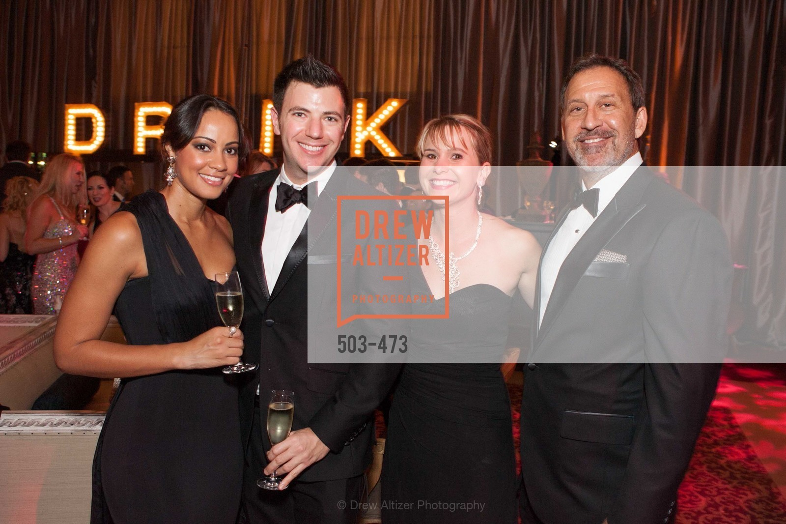 Rachel Cloy, Isaac Hall, Kelly Cramer, Steve Gomberg, ENCORE! at San Francisco BALLET'S 2014 Season Opening Night Gala, US. US, January 22nd, 2014,Drew Altizer, Drew Altizer Photography, full-service agency, private events, San Francisco photographer, photographer california