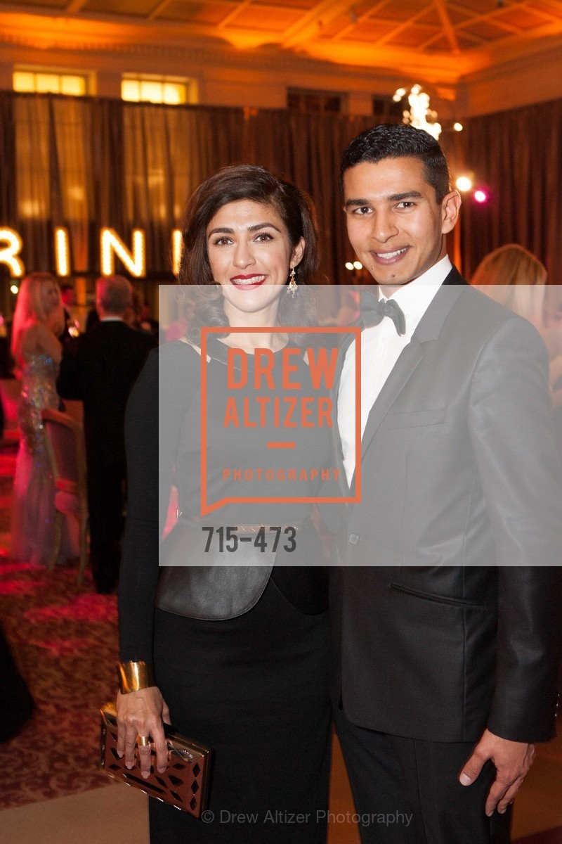 Saman Chaudry, Shadi Elkarra, ENCORE! at San Francisco BALLET'S 2014 Season Opening Night Gala, US. US, January 22nd, 2014,Drew Altizer, Drew Altizer Photography, full-service agency, private events, San Francisco photographer, photographer california