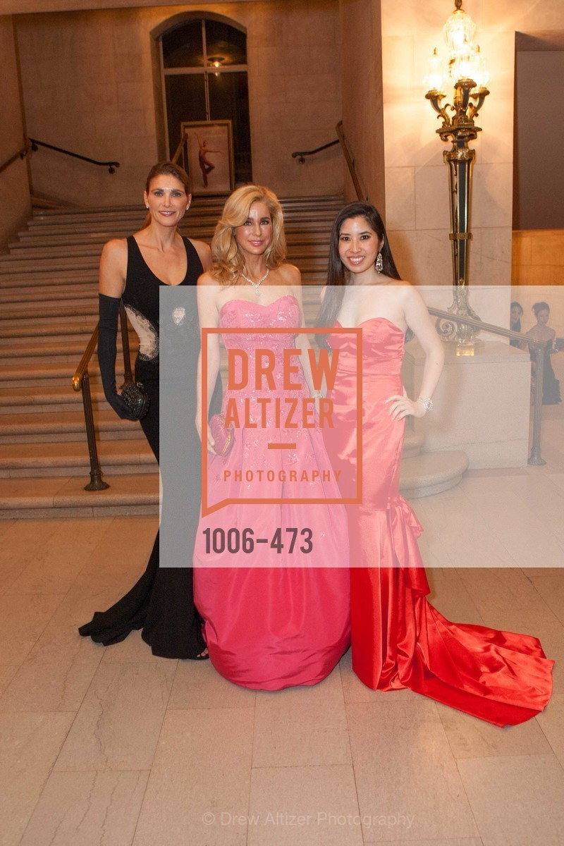 Christine Williams, Paula Carano, Georgina Rufino, ENCORE! at San Francisco BALLET'S 2014 Season Opening Night Gala, US. US, January 22nd, 2014,Drew Altizer, Drew Altizer Photography, full-service agency, private events, San Francisco photographer, photographer california
