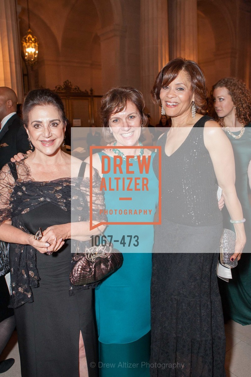 Lily Samii, Lee Gregory, Brenda Wade, ENCORE! at San Francisco BALLET'S 2014 Season Opening Night Gala, US. US, January 22nd, 2014,Drew Altizer, Drew Altizer Photography, full-service agency, private events, San Francisco photographer, photographer california