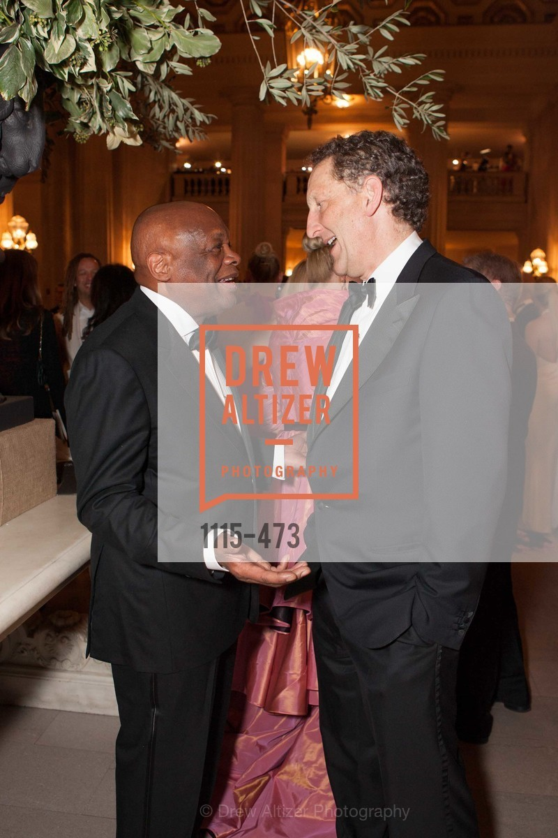 Willie Brown, Larry Baer, ENCORE! at San Francisco BALLET'S 2014 Season Opening Night Gala, US. US, January 22nd, 2014,Drew Altizer, Drew Altizer Photography, full-service agency, private events, San Francisco photographer, photographer california