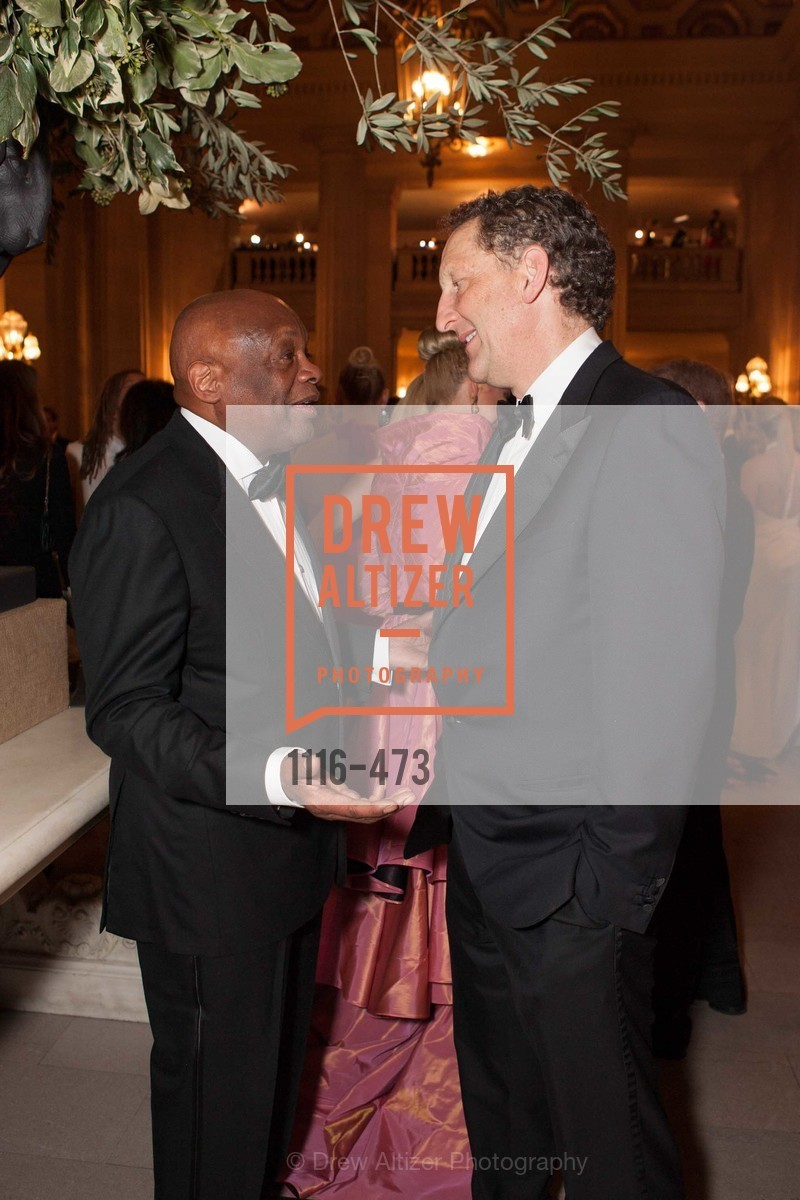 Willie Brown, Larry Baer, ENCORE! at San Francisco BALLET'S 2014 Season Opening Night Gala, US. US, January 22nd, 2014,Drew Altizer, Drew Altizer Photography, full-service event agency, private events, San Francisco photographer, photographer California