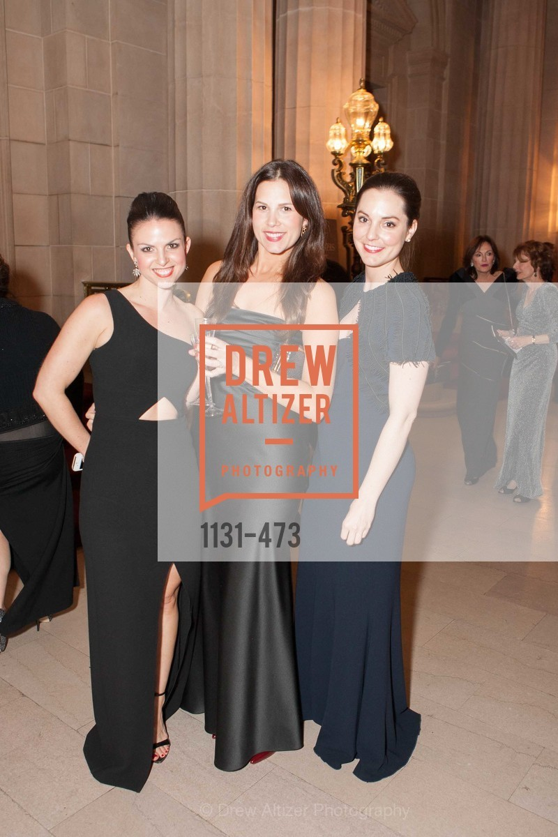 Kelly Dugan, Julia Flajnik, Kelly Cober, ENCORE! at San Francisco BALLET'S 2014 Season Opening Night Gala, US. US, January 22nd, 2014,Drew Altizer, Drew Altizer Photography, full-service agency, private events, San Francisco photographer, photographer california