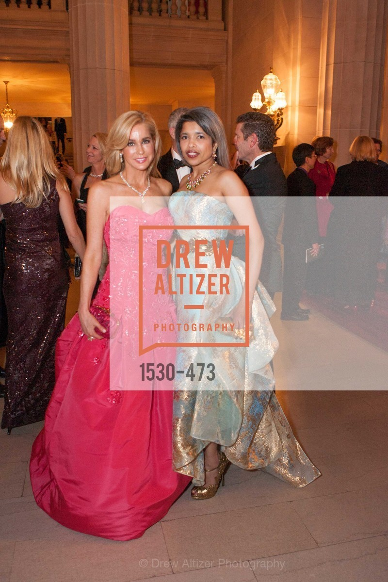 Paula Carano, Deepa Pakianathan, ENCORE! at San Francisco BALLET'S 2014 Season Opening Night Gala, US. US, January 22nd, 2014,Drew Altizer, Drew Altizer Photography, full-service agency, private events, San Francisco photographer, photographer california