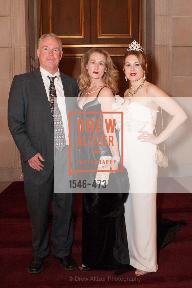 Don Heinsohn, Helen Heinsohn, Taisia Dubinina, ENCORE! at San Francisco BALLET'S 2014 Season Opening Night Gala, US. US, January 22nd, 2014