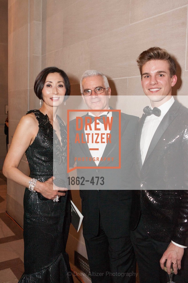 Yurie Pascarella, Val Caniparoli, Joe Atkins, ENCORE! at San Francisco BALLET'S 2014 Season Opening Night Gala, US. US, January 22nd, 2014,Drew Altizer, Drew Altizer Photography, full-service agency, private events, San Francisco photographer, photographer california