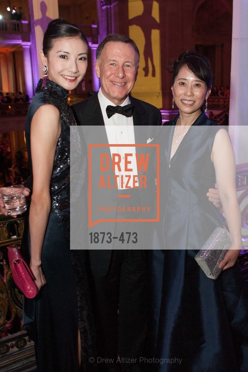 Yuan Yuan Tan, Carl Pascarella, Chaomei Chen, ENCORE! at San Francisco BALLET'S 2014 Season Opening Night Gala, US. US, January 22nd, 2014,Drew Altizer, Drew Altizer Photography, full-service agency, private events, San Francisco photographer, photographer california