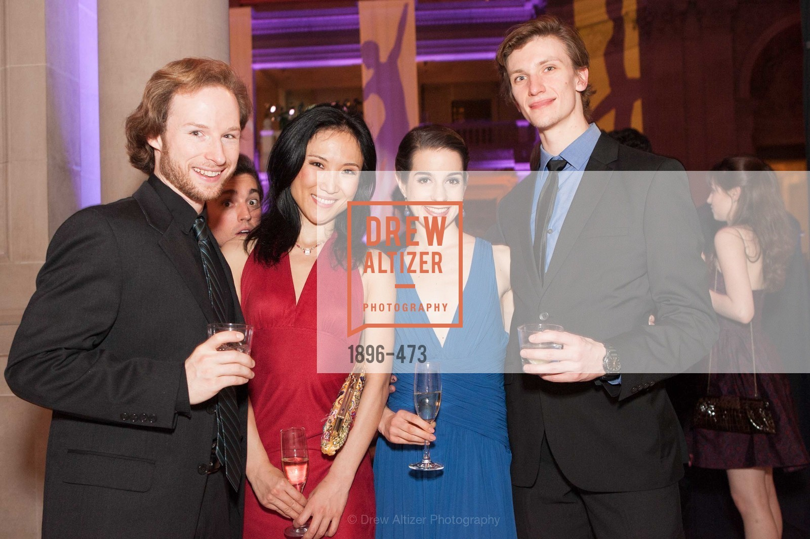 Benjamin Stewart, Julia Rowe, Alex Reneff-Olson, ENCORE! at San Francisco BALLET'S 2014 Season Opening Night Gala, US. US, January 22nd, 2014,Drew Altizer, Drew Altizer Photography, full-service agency, private events, San Francisco photographer, photographer california
