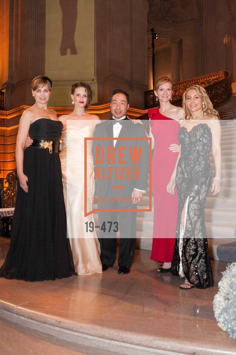 Jane Burkhard, Alyson Blume, Wilson Yan, Greer Goings, Robin Farmanfarmaian, ENCORE! at San Francisco BALLET'S 2014 Season Opening Night Gala, US. US, January 22nd, 2014,Drew Altizer, Drew Altizer Photography, full-service agency, private events, San Francisco photographer, photographer california