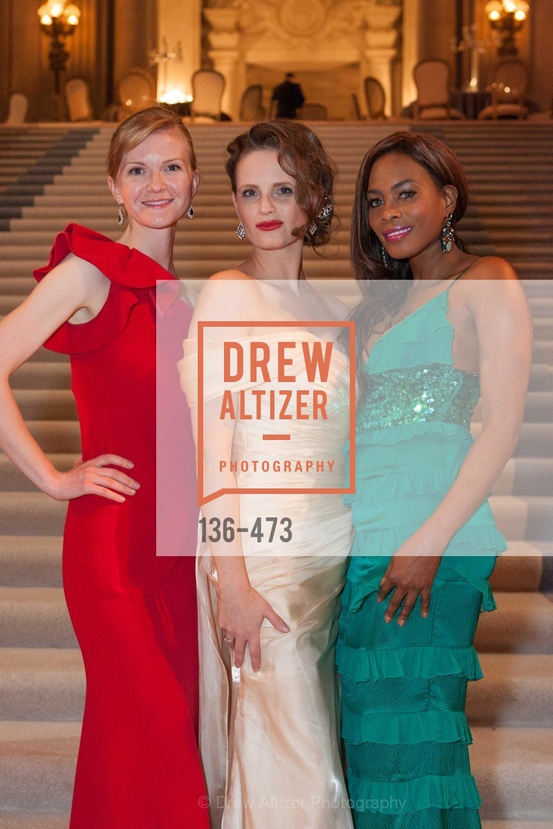 Greer Goings, Alyson Blume, Vanessa Jean Baptiste, ENCORE! at San Francisco BALLET'S 2014 Season Opening Night Gala, US. US, January 22nd, 2014,Drew Altizer, Drew Altizer Photography, full-service agency, private events, San Francisco photographer, photographer california