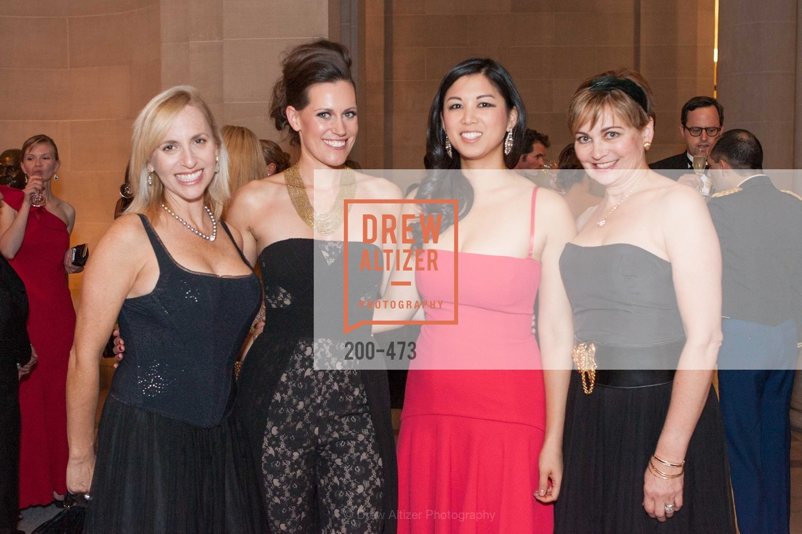 Beth Forsman, Ashley Tudor, Emily Hu, Jane Burkhard, ENCORE! at San Francisco BALLET'S 2014 Season Opening Night Gala, US. US, January 22nd, 2014,Drew Altizer, Drew Altizer Photography, full-service agency, private events, San Francisco photographer, photographer california