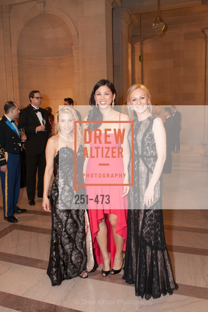 Robin Farmanfarmaian, Emily Hu, Natasha Yarushkina, ENCORE! at San Francisco BALLET'S 2014 Season Opening Night Gala, US. US, January 22nd, 2014,Drew Altizer, Drew Altizer Photography, full-service agency, private events, San Francisco photographer, photographer california