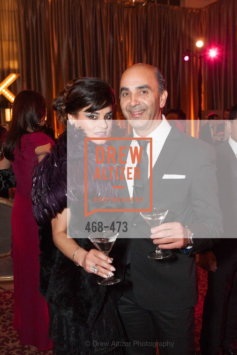 Sahar Masarati, Mamoun Khalil, ENCORE! at San Francisco BALLET'S 2014 Season Opening Night Gala, US. US, January 22nd, 2014,Drew Altizer, Drew Altizer Photography, full-service agency, private events, San Francisco photographer, photographer california