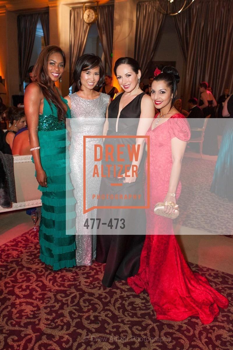 Vanessa Jean Baptiste, Bridget Dixon Nguyen, Ruwa Sumanasekera, ENCORE! at San Francisco BALLET'S 2014 Season Opening Night Gala, US. US, January 22nd, 2014