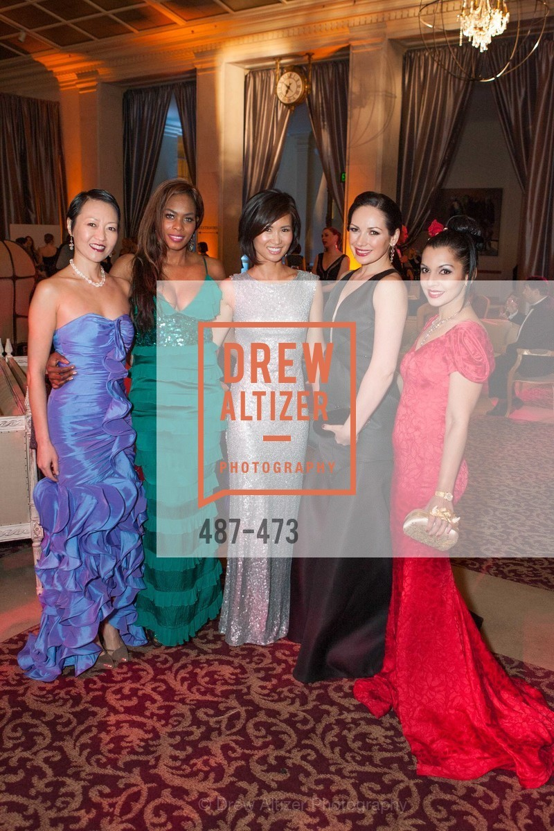 Carrie Lerner, Vanessa Jean Baptiste, Bridget Dixon Nguyen, Ruwa Sumanasekera, ENCORE! at San Francisco BALLET'S 2014 Season Opening Night Gala, US. US, January 22nd, 2014,Drew Altizer, Drew Altizer Photography, full-service agency, private events, San Francisco photographer, photographer california