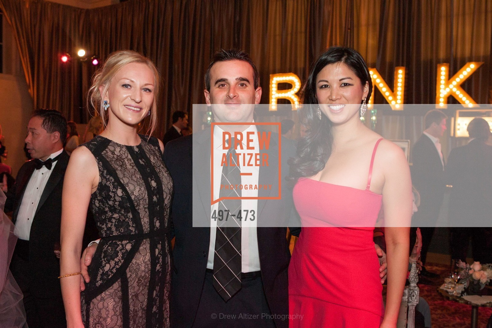 Natasha Yarushkina, Aaron Aiken, Emily Hu, ENCORE! at San Francisco BALLET'S 2014 Season Opening Night Gala, US. US, January 22nd, 2014,Drew Altizer, Drew Altizer Photography, full-service event agency, private events, San Francisco photographer, photographer California