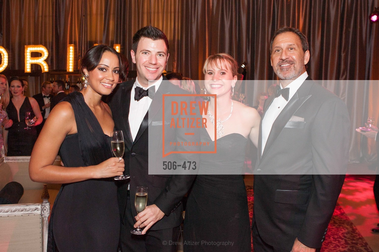Rachel Cloy, Isaac Hall, Kelly Cramer, Steve Gomberg, ENCORE! at San Francisco BALLET'S 2014 Season Opening Night Gala, US. US, January 22nd, 2014,Drew Altizer, Drew Altizer Photography, full-service event agency, private events, San Francisco photographer, photographer California