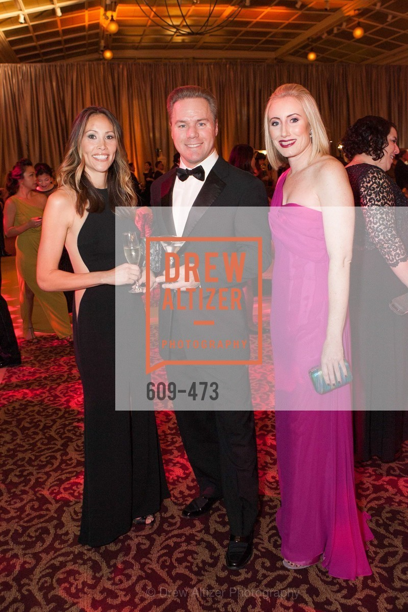 Sandy McCuaig, Sean Hoel, Elizabeth Steiring, ENCORE! at San Francisco BALLET'S 2014 Season Opening Night Gala, US. US, January 22nd, 2014,Drew Altizer, Drew Altizer Photography, full-service agency, private events, San Francisco photographer, photographer california