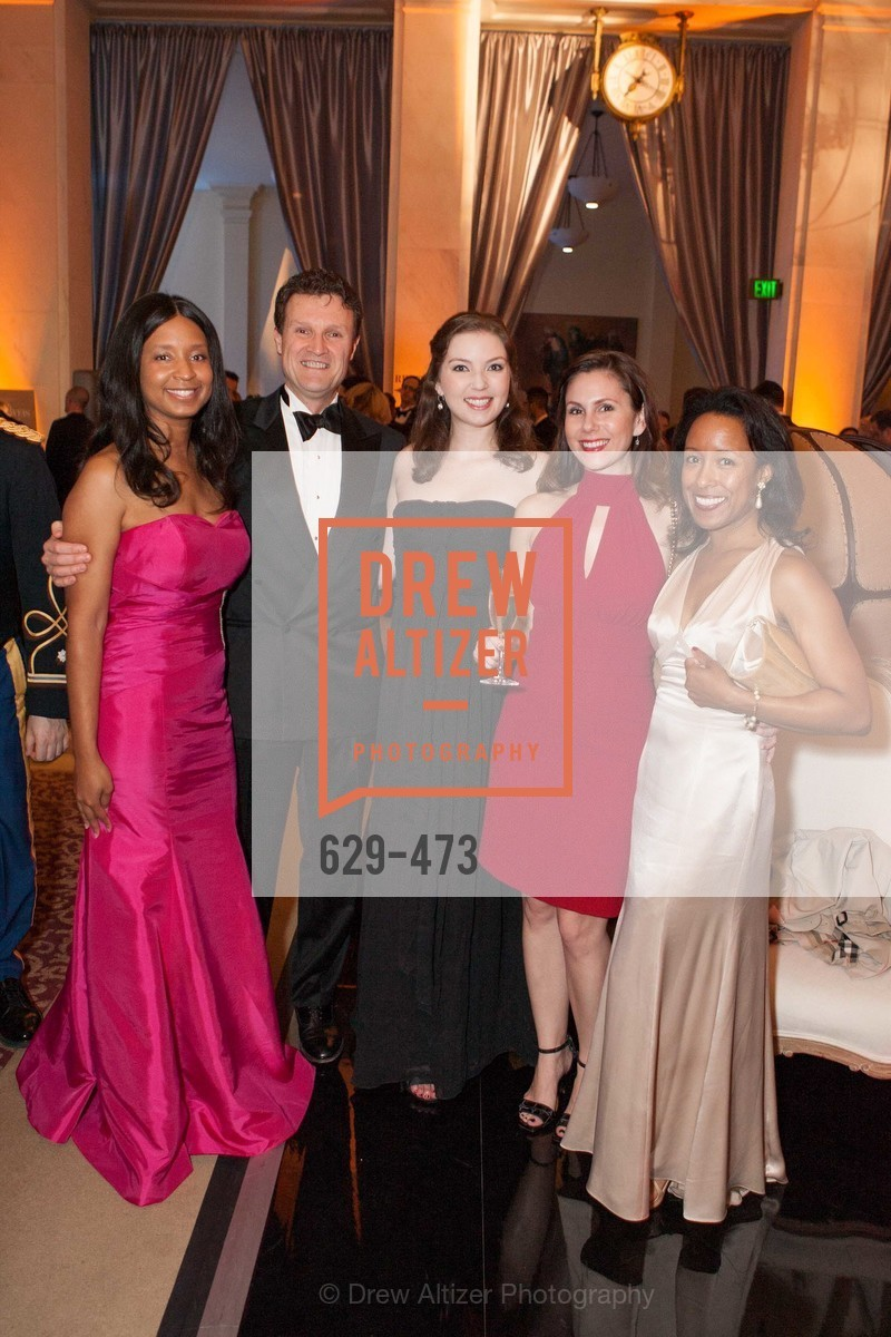 Britt Eason, Chuck Bueche, Emily Fulmer, Shelley Wolf, Tiffany Brownley-Meijer, ENCORE! at San Francisco BALLET'S 2014 Season Opening Night Gala, US. US, January 22nd, 2014,Drew Altizer, Drew Altizer Photography, full-service agency, private events, San Francisco photographer, photographer california