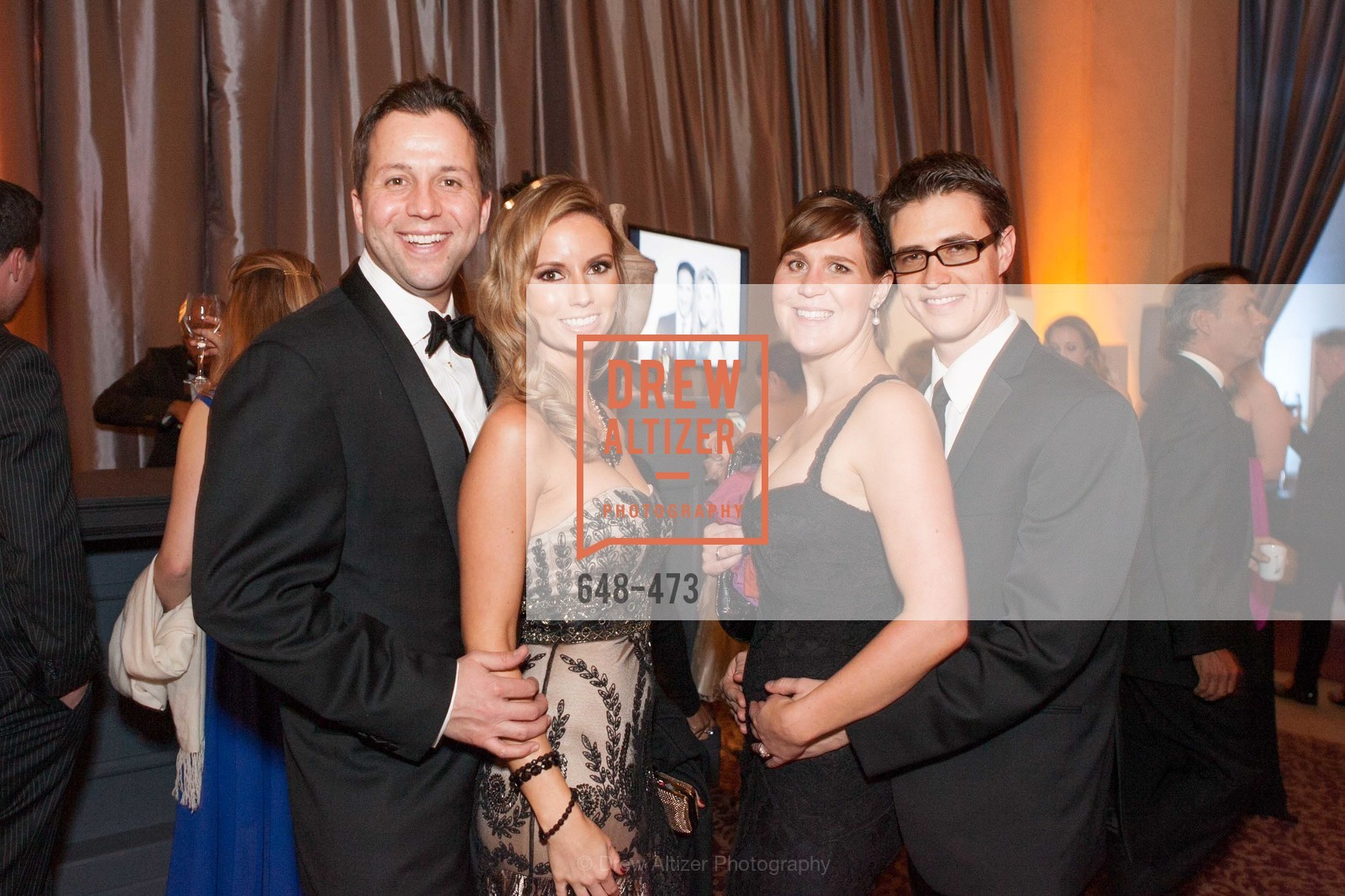 Rob Pearson, Kelly Pearson, Catherine Hill, Thomas Hill, ENCORE! at San Francisco BALLET'S 2014 Season Opening Night Gala, US. US, January 22nd, 2014,Drew Altizer, Drew Altizer Photography, full-service agency, private events, San Francisco photographer, photographer california