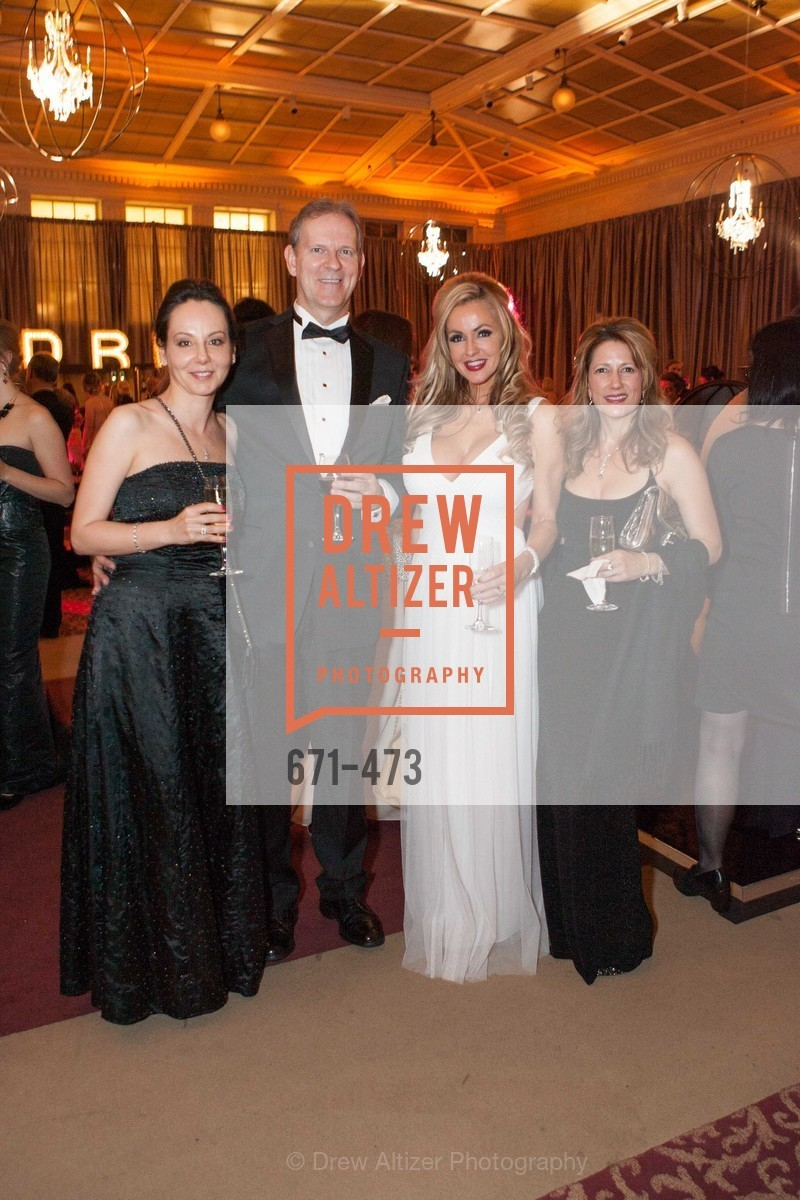 Gergana Gallacher, David Gallacher, Kimberly Stearns-Weil, Keri Evilsizor, ENCORE! at San Francisco BALLET'S 2014 Season Opening Night Gala, US. US, January 22nd, 2014,Drew Altizer, Drew Altizer Photography, full-service agency, private events, San Francisco photographer, photographer california