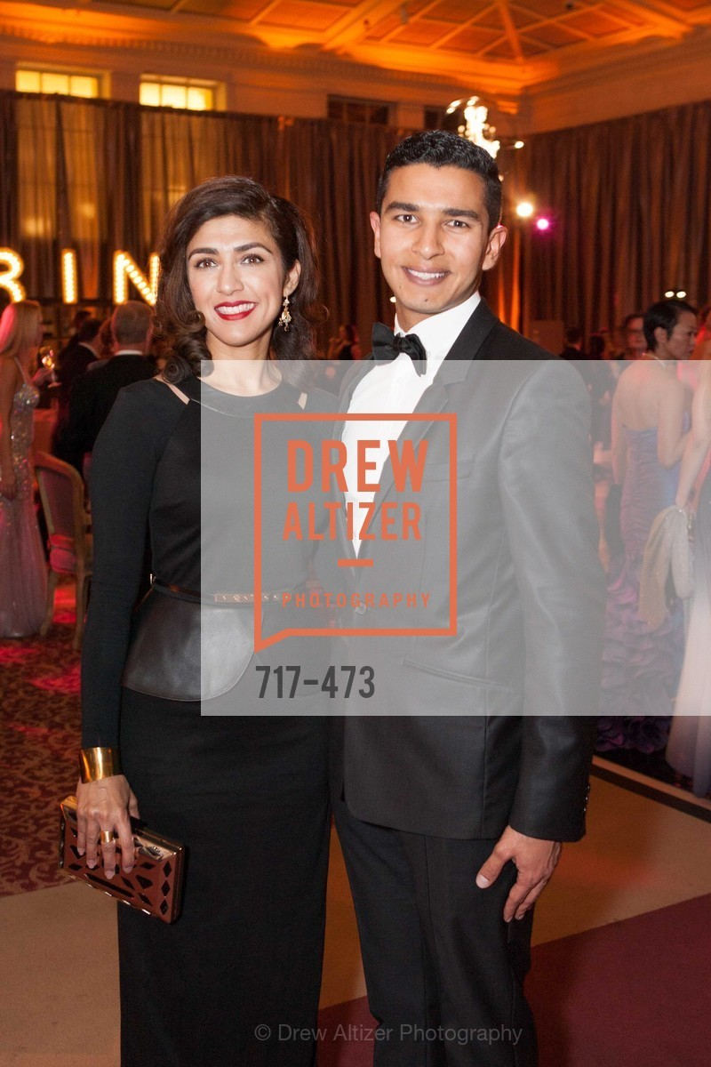 Saman Chaudry, Shadi Elkarra, ENCORE! at San Francisco BALLET'S 2014 Season Opening Night Gala, US. US, January 22nd, 2014