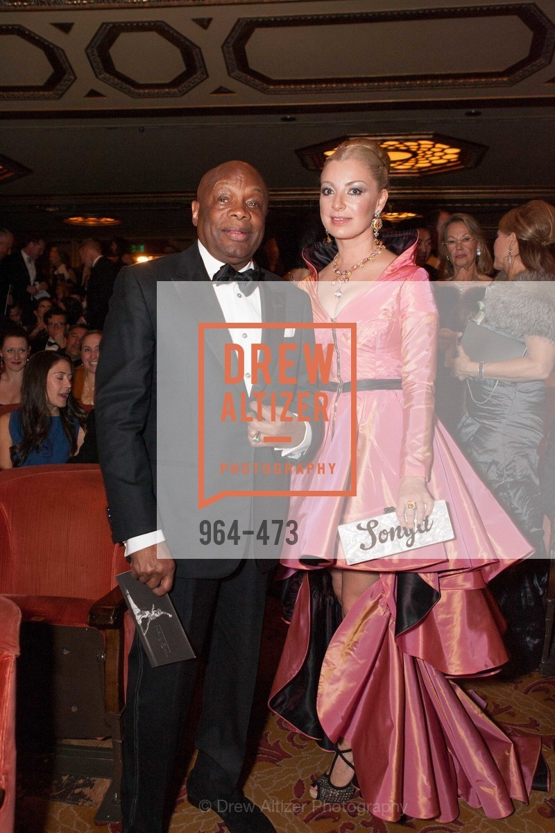 Willie Brown, Sonya Molodetskaya, ENCORE! at San Francisco BALLET'S 2014 Season Opening Night Gala, US. US, January 22nd, 2014,Drew Altizer, Drew Altizer Photography, full-service agency, private events, San Francisco photographer, photographer california