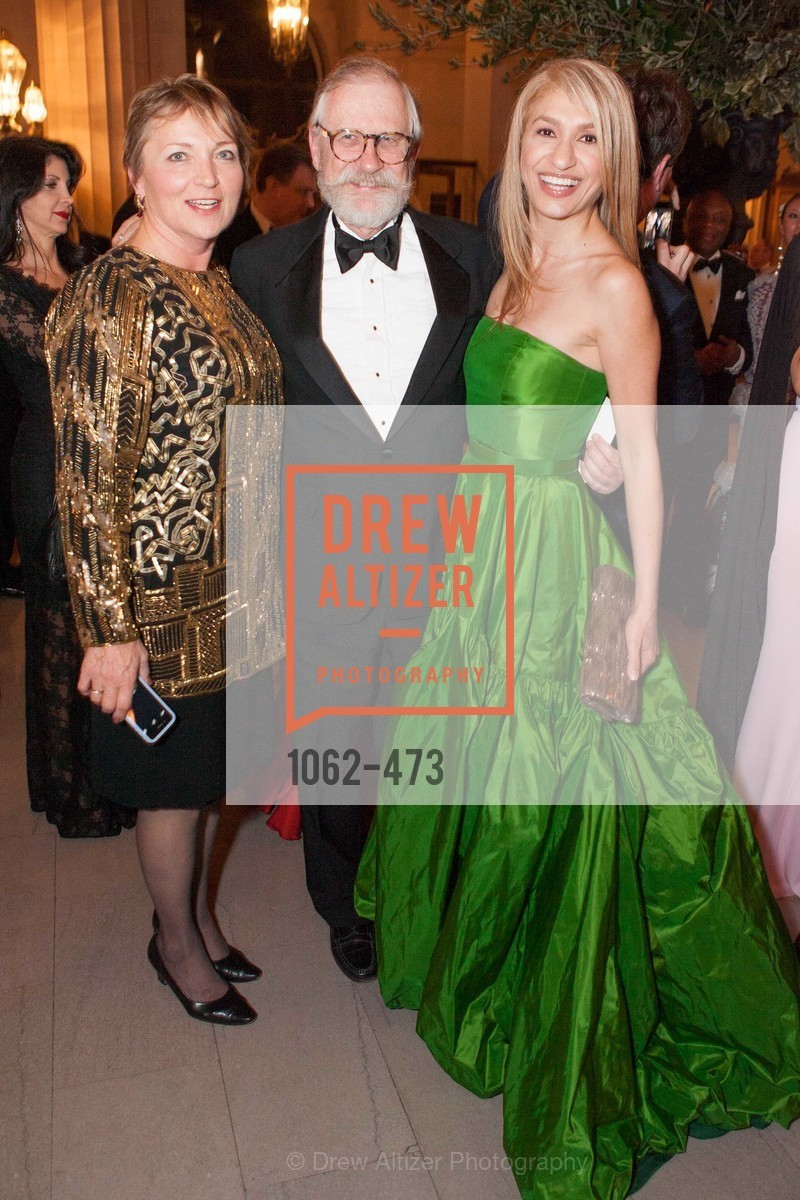 Kristi Hanson, Chuck Hanson, Navid Armstrong, ENCORE! at San Francisco BALLET'S 2014 Season Opening Night Gala, US. US, January 22nd, 2014,Drew Altizer, Drew Altizer Photography, full-service agency, private events, San Francisco photographer, photographer california