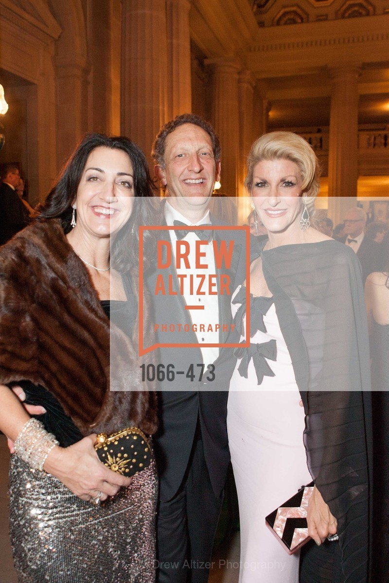 Pam Baer, Larry Baer, Karen Caldwell, ENCORE! at San Francisco BALLET'S 2014 Season Opening Night Gala, US. US, January 22nd, 2014,Drew Altizer, Drew Altizer Photography, full-service agency, private events, San Francisco photographer, photographer california