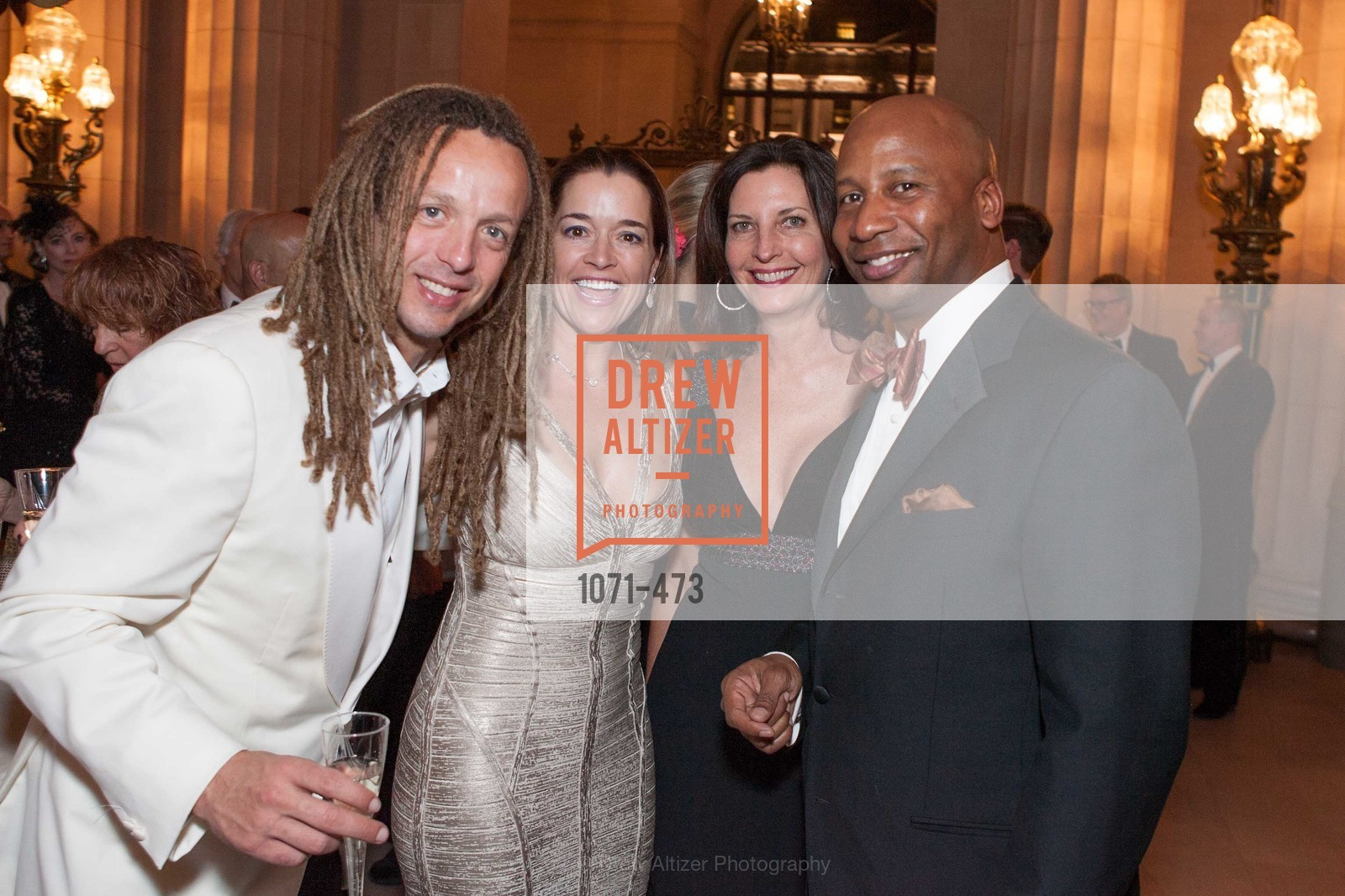 Keith Hunter, Kerah Cottrell, Karen Burgman, Roger Wood, ENCORE! at San Francisco BALLET'S 2014 Season Opening Night Gala, US. US, January 22nd, 2014,Drew Altizer, Drew Altizer Photography, full-service event agency, private events, San Francisco photographer, photographer California