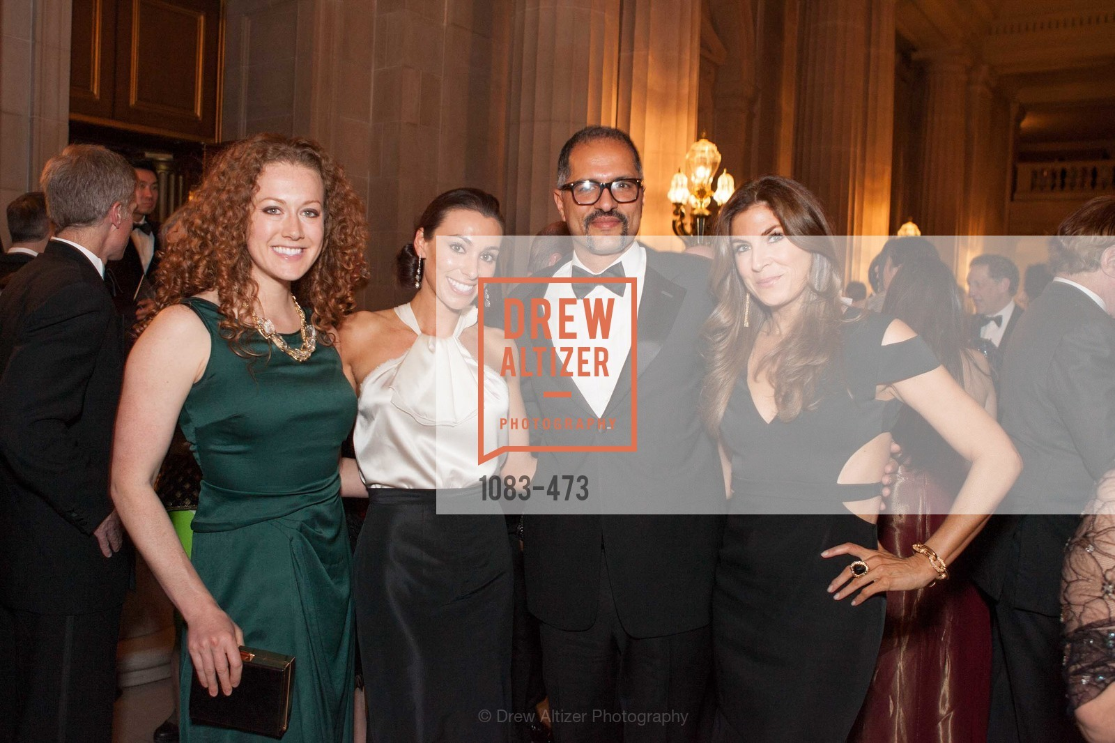 Britney Hopkins, Nabiel Musleh, Jenny Boyle, ENCORE! at San Francisco BALLET'S 2014 Season Opening Night Gala, US. US, January 22nd, 2014,Drew Altizer, Drew Altizer Photography, full-service agency, private events, San Francisco photographer, photographer california