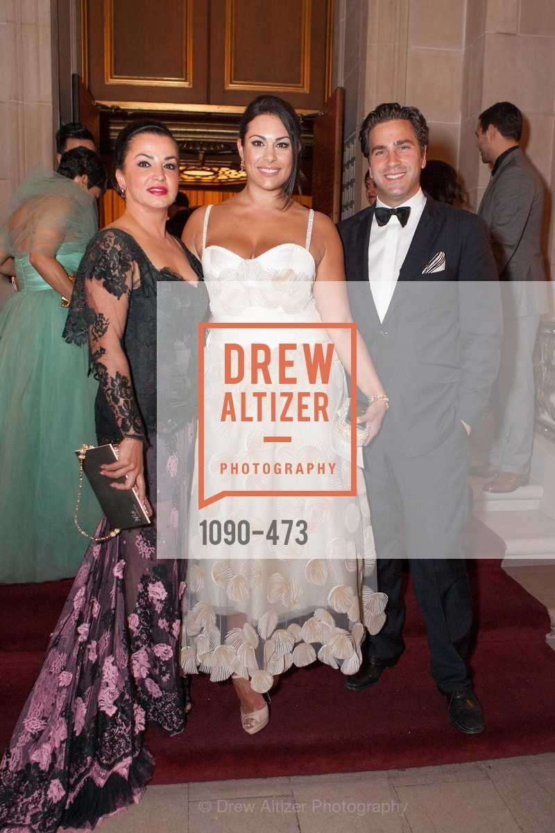 Azadeh Riaz, Libby Leffler Hoaglin, Phin Upham, ENCORE! at San Francisco BALLET'S 2014 Season Opening Night Gala, US. US, January 22nd, 2014,Drew Altizer, Drew Altizer Photography, full-service agency, private events, San Francisco photographer, photographer california