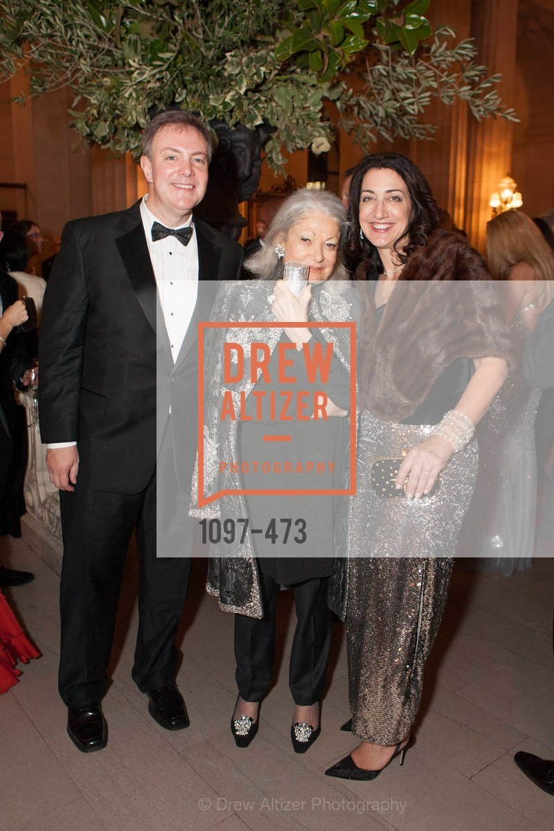 Kevin O'Shea, Denise Hale, Pam Baer, ENCORE! at San Francisco BALLET'S 2014 Season Opening Night Gala, US. US, January 22nd, 2014,Drew Altizer, Drew Altizer Photography, full-service agency, private events, San Francisco photographer, photographer california