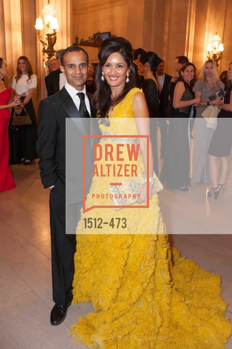 Gaurav Garg, Komal Shah, ENCORE! at San Francisco BALLET'S 2014 Season Opening Night Gala, US. US, January 22nd, 2014,Drew Altizer, Drew Altizer Photography, full-service agency, private events, San Francisco photographer, photographer california