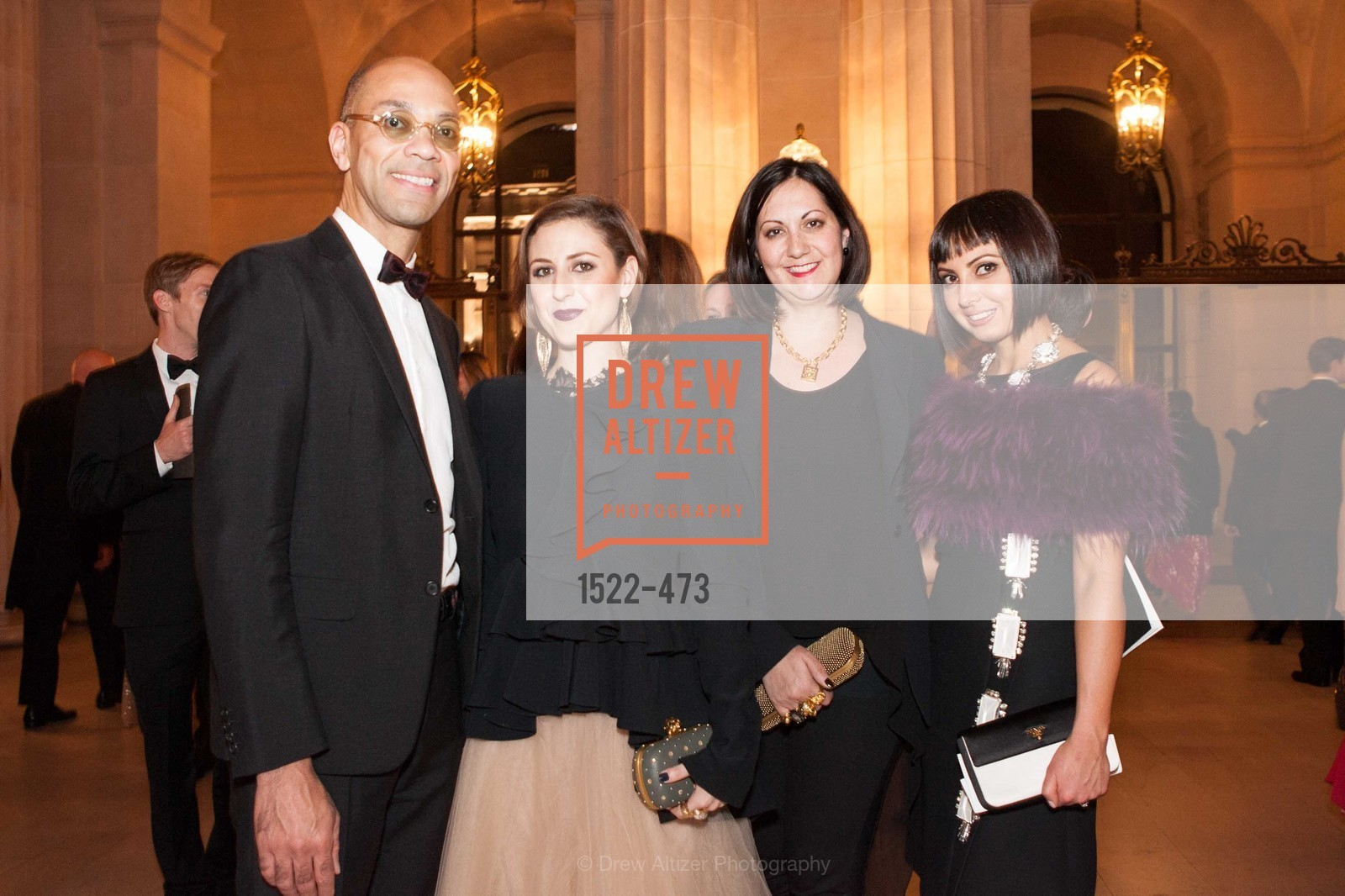 Kenneth Harvey, Danielle Bengochea, Amanda Allen, Svetlana Gafurova, ENCORE! at San Francisco BALLET'S 2014 Season Opening Night Gala, US. US, January 22nd, 2014,Drew Altizer, Drew Altizer Photography, full-service agency, private events, San Francisco photographer, photographer california